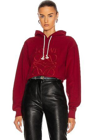 Loewe Women Hoodies - Anagram Hoodie in