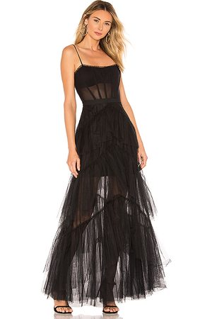 BCBG Max Azria Women Evening Dresses - Corset Tulle Gown in .