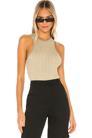 superdown Sonya Rib Sweater Tank in .