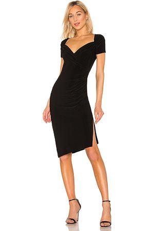 Norma Kamali X REVOLVE Sweetheart Side Drape Dress in .