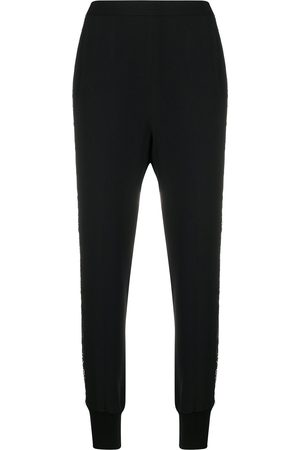 Stella McCartney Lace cut-out tapered trousers