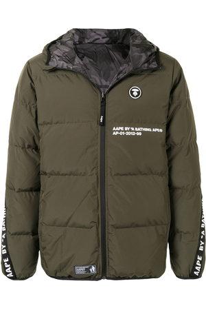 AAPE BY *A BATHING APE® Reversible hooded padded jacket
