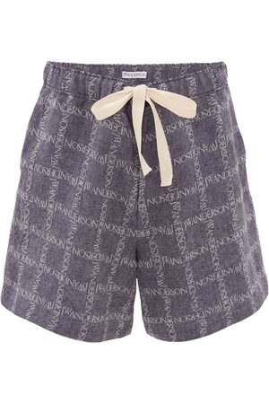 J.W.Anderson All-over logo print shorts