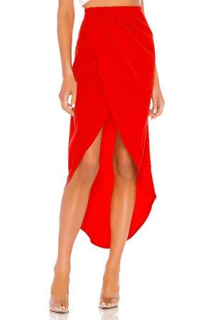 superdown Arielle Slit Maxi Skirt in .