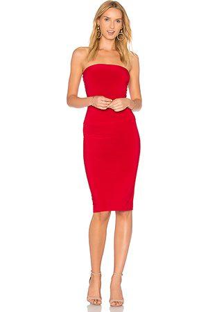 Norma Kamali X REVOLVE Strapless Dress to Knee Dress in .