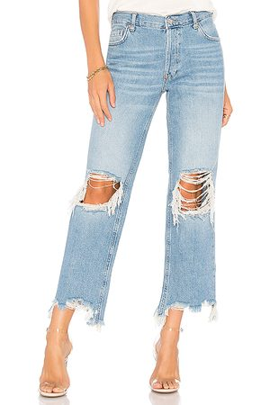 Free People Maggie Straight Jean in .