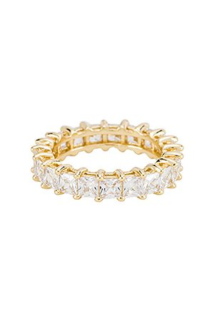 The M Jewelers The Princess Cut Eternity Band in .