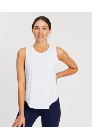 MOVEMAMI Crete Tie Back Top - Muscle Tops (Snow ) Crete Tie-Back Top