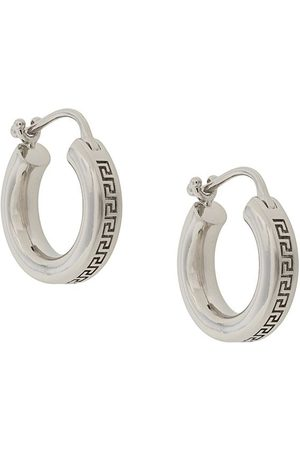 VERSACE Greca small hoop earrings
