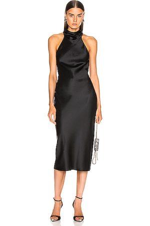 Cushnie Sleeveless High Neck Pencil Dress in