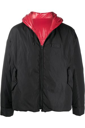 VALENTINO VLTN tag hooded jacket