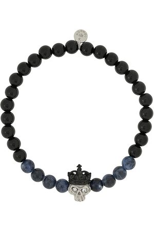Tateossian Men Bracelets - King Skull bracelet