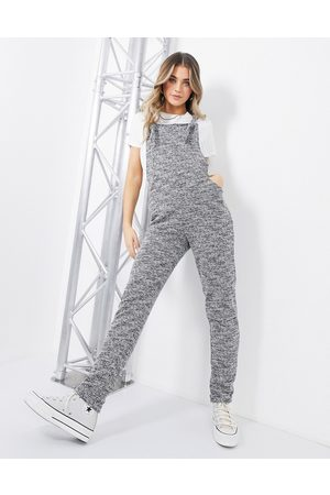 ASOS Jersey casual overalls in mono boucle-Multi