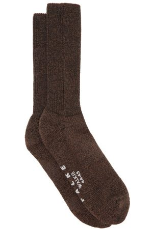 Falke Walkie Ergo Wool-blend Socks - Mens - Dark