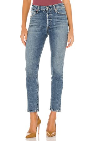 Citizens of Humanity Olivia Ankle High Rise Slim in .