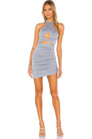 superdown Suzette Halter Mini Dress in .