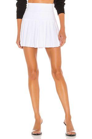 Norma Kamali Pleated Mini Skirt in .