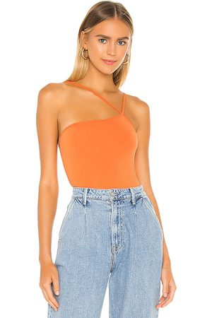 superdown Taryn Asymmetric Bodysuit in .