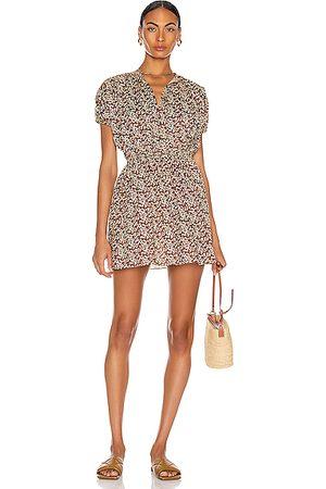 MATTEAU Cocoon Mini Dress in Blossom