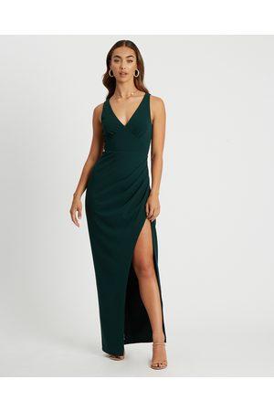CHANCERY Women Maxi Dresses - Halsey Dress - Dresses (Emerald) Halsey Dress
