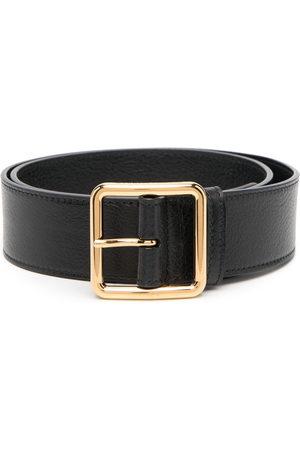 Alexander McQueen Women Belts - Buckle-fastening leather belt