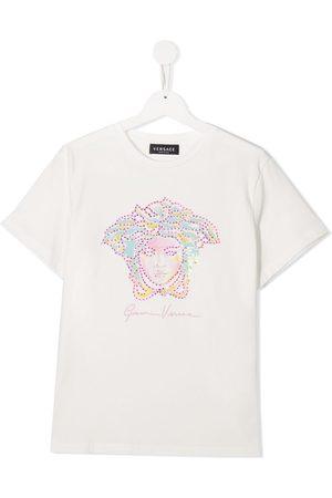 VERSACE Medusa crew neck T-shirt
