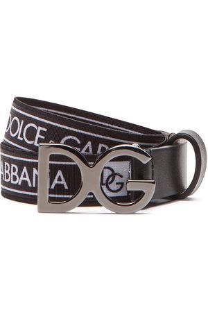 Dolce & Gabbana Stretch tape belt with logo