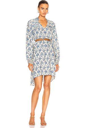 Natalie Martin Lizzy Short Dress in Cyprus Print