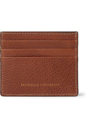 Brunello Cucinelli Men Wallets - Full-Grain Leather Cardholder