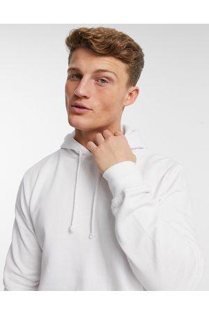 Brave Soul Overhead hoodie in white
