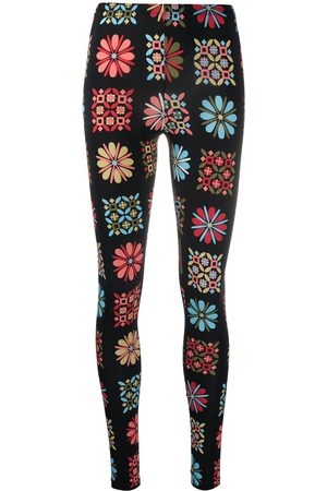 La DoubleJ Women Leggings - Floral stretch leggings