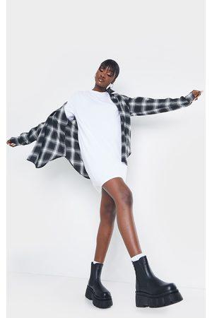 PRETTYLITTLETHING Tall Oversized T-Shirt Dress