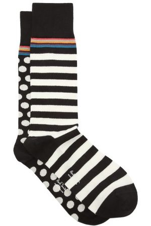 Paul Smith Men Socks - Pack Of Two Cotton-blend Socks - Mens
