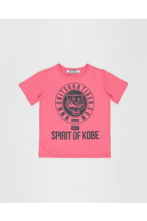 Onitsuka Tiger Short Sleeve - Kids Graphic Tee Kid's - T-Shirts & Singlets Kids Graphic Tee - Kid's