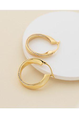 Jackie Mack Women Earrings - Lava Hoops - Jewellery (18K ) Lava Hoops