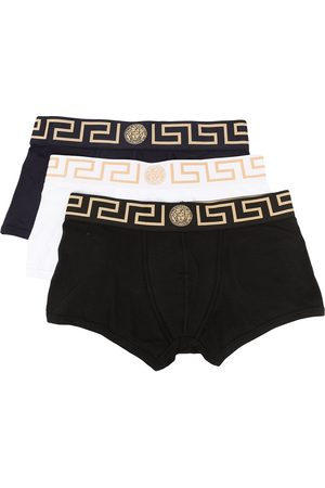 VERSACE Greca-waistband boxers