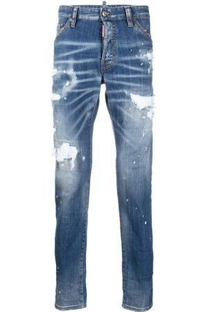 Dsquared2 Men Slim - Icon distressed slim-fit jeans
