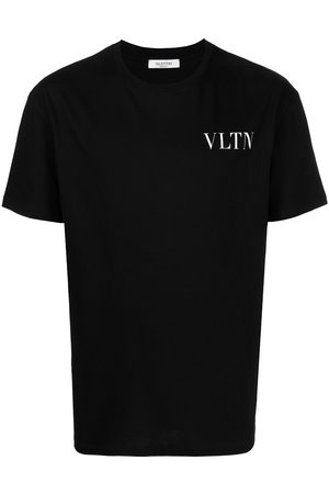 VALENTINO VLTN-print jersey T-shirt