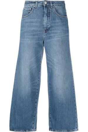 Totême Cropped wide-leg jeans