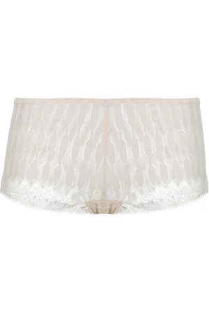 ERES Relief patterned lace boxers