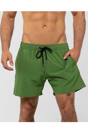 ONEBYONE Venice Swim Shorts - Swimwear (Khaki) Venice Swim Shorts