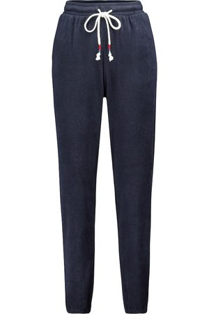 The Upside Florencia cotton-blend terry trackpants