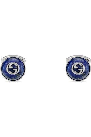 Gucci Men Cufflinks - Cufflinks with Interlocking G