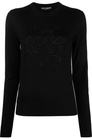 Dolce & Gabbana Logo-embroidered jumper