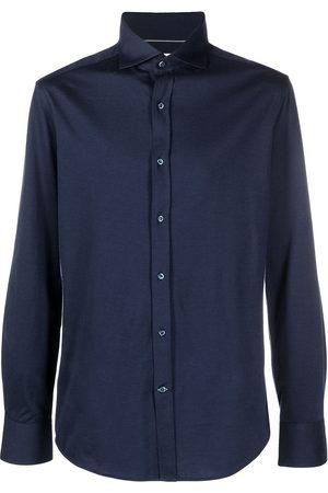 Brunello Cucinelli Classic collar buttoned shirt