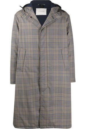 MACKINTOSH Check-pattern hooded coat