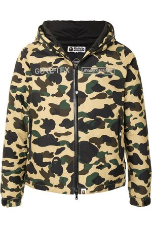 A BATHING APE® Camouflage-print hooded jacket
