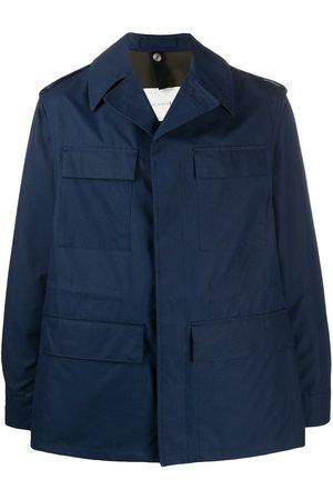 MACKINTOSH SKITE single-breasted shirt jacket