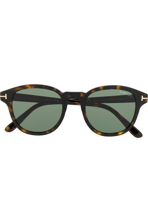 Tom Ford Men Sunglasses - Round shaped sunglasses