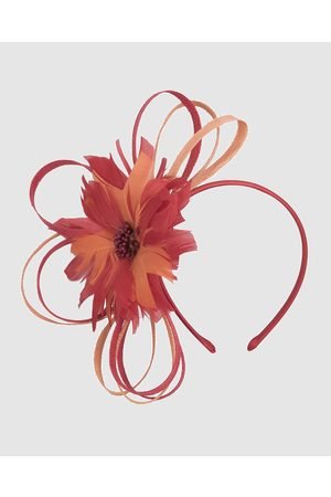 Max Alexander Feather Flower Racing Fascinator - Fascinators ( & ) Feather Flower Racing Fascinator